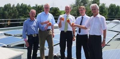 Schoenenberger пуска в експлоатация голяма фотоволтаична инсталация