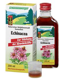 Био сок от Ехинацея