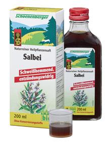 Био сок от Салвия
